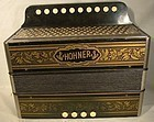 German HOHNER 4 BASS 10 BUTTON ACCORDION - Key of C