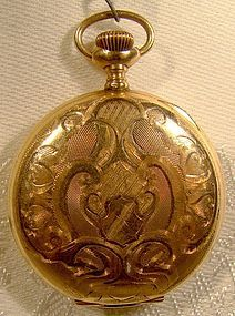 Waltham Hunter Case GF Size 6 Pocket Watch 1903