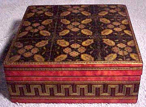 Superb 19thC SORRENTO WARE BOX - Great Workmanship