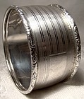 Birks Sterling Silver NAPKIN RING  - No Monogram 1930s-50s