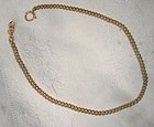 Finberg Mfg. Co. Curb Link Gold Filled Man's Pocket Vest Watch Chain
