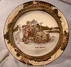 Doulton EARLY MOTORING SERIES WARE PLATE - Room for One