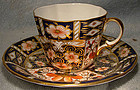 Royal Crown Derby 2451 OLD IMARI CUP & SAUCER 1923
