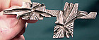 Signed ROBERT LARIN CAST ABSTRACT PIN c1970