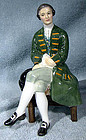 Royal Doulton A Gentleman From Williamsburg HN2227 Figurine 1960-83