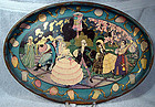 ART DECO LITHO SERVING TRAY c1920-30
