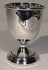 STERLING SILVER EGG CUP - BIRMINGHAM 1917