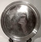BIRKS STERLING SILVER FOOTED Round SALVER or TRAY 1955