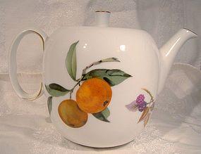 "Royal Worcester Evesham 5"" Teapot"