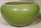BRETBY ENGLISH POTTERY GREEN PLANTER c1920