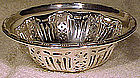 BIRKS STERLING OPENWORK NUT or CANDY BOWL