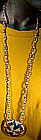 SIX NATIONS NATIVE INDIAN BEADED NECKLACE c1950s-60s