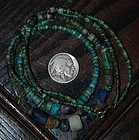 Pre-Columbian ~ CHAVIN ~ Turquoise NECKLACE