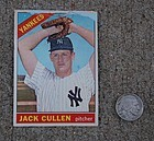 New York Yankees ~ JACK CULLEN ~ Flip Card
