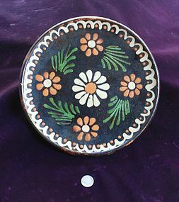 Colorful Mexican  ~  PLATE  ~ 1950's