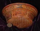 Pre-Columbian ~ MAYAN ~ Polychrome BOWL