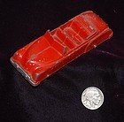 TOOTSIE TOY ~ Diecast Red Convertible