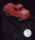 TOOTSIE TOY ~ Diecast Red Pickup Truck