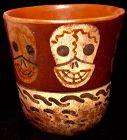 Pre-Columbian Skull Cup Culture Nazca [100 BCE-2nd C.]