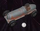 HUBLEY KIDDIE ~ Cast Iron Racing Toy CAR # 5 ~ USA