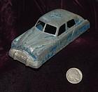 TOOTSIE TOY ~ Cast Iron Blue Toy CAR ~ 1930's - 1940's