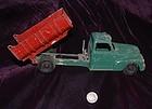 HUBLEY KIDDIE ~ Cast Iron Toy  DUMP TRUCK ~ 1930's - 1940's