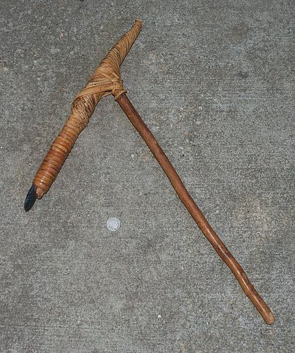 Beaufitul ~ AFRICAN ~  Wood Fighting WEAPON