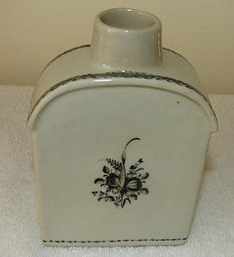 C. 1780 CHINESE EXPORT TEA CADDY W/O LID