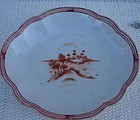 C.1780 CHINESE EXPORT OVAL DISH,EUROPEAN MARKET