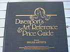 DAVENPORT'S ART REFERENCE PRICE GUIDE