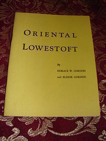 "ORIENTAL LOWESTOFT BY ""GORDON'S"""