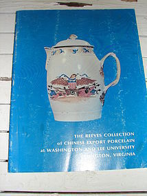 THE REEVES COLLECTION OF CHINESE EXPORT