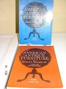 AMERICAN ANTIQUES FURNITURE VOL. 1 and 2