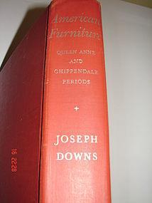JOSEPH  DOWNS AMERICAN FURNITURE FEDERAL 1ST. ED. 1952