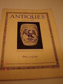 ANTIQUES MAGAZINES FROM THE 1925 TO 1960