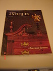ANTIQUES MAGAZINE FROM 1982-JUNE 1987