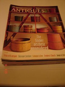 ANTIQUES MAGAZINES FROM JAN. 2008 TO DEC..2008