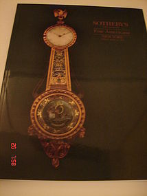 SOTHEBY'S CATALOG NEW YORK JUNE.19,1992