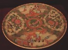 C. 1850 CHINESE EXPORT ROSE MEDALLION TAZZA