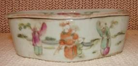 C.1875 CHINESE EXPORT RARE CRICKET BOX PERFUMER