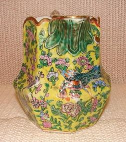 C. 1850-1875 CHINESE EXPORT SCALLOPED PITCHER-BEAUTIFUL