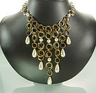 Beautiful Langani Anni Schaad Chains, Pearls Necklace