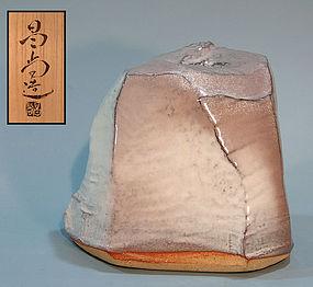 Contemporary Hagi Vase by Kaneta Masanao