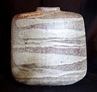 Important Ceramic Vase by Yasuda Zenko