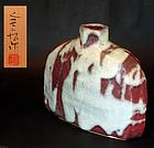Superb Ryuun Vase by Yasuda Zenko