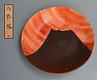 Mt. Fuji Plate by avant-garde Asano Yo