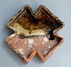 Contemporary Narumi Oribe Dish by Nakashima Katsunori