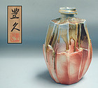 Radical Kato Toyohisa Nezumi Shino Vase