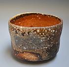 Shigaraki Chawan Tea Bowl by Sugimoto Sadamitsu, Daiki