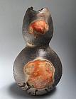 Tanimoto Yo Iga Hanaire Flower Vase